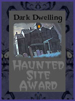 Haunted Site Award!