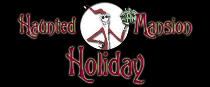 Haunted Mansion Holiday...The Script