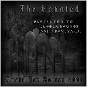 The Haunted Award for Horror